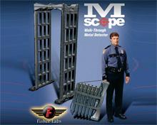 M-Scope Fisher-Lab美国进口防水型便携式安检门