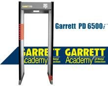 Garrett PD6500i美国盖瑞特进口安检门