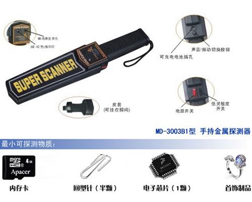 GP-3003B1维和时代国产专用手持金属安检仪