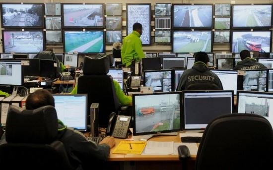 奥运安保控制室的别样景象[图]